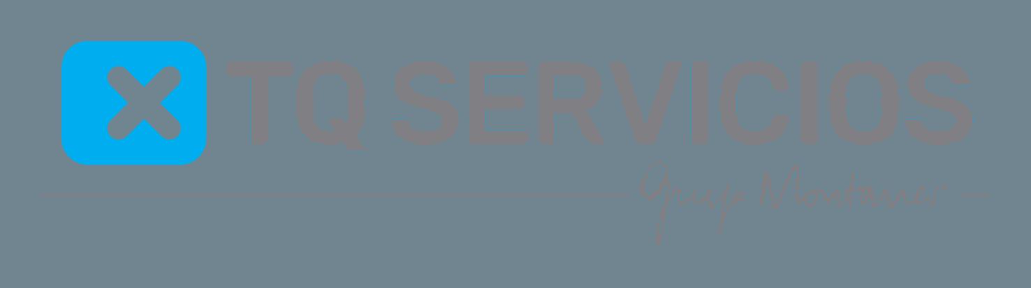 Logo TQ Servicios, marca registrada de Grup Montaner